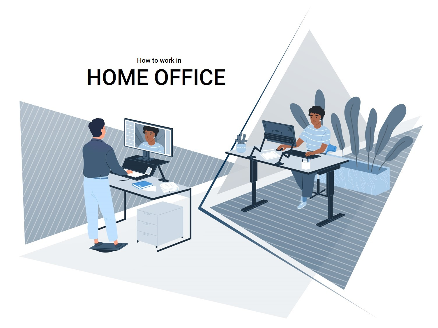 Home Office - Video Conference