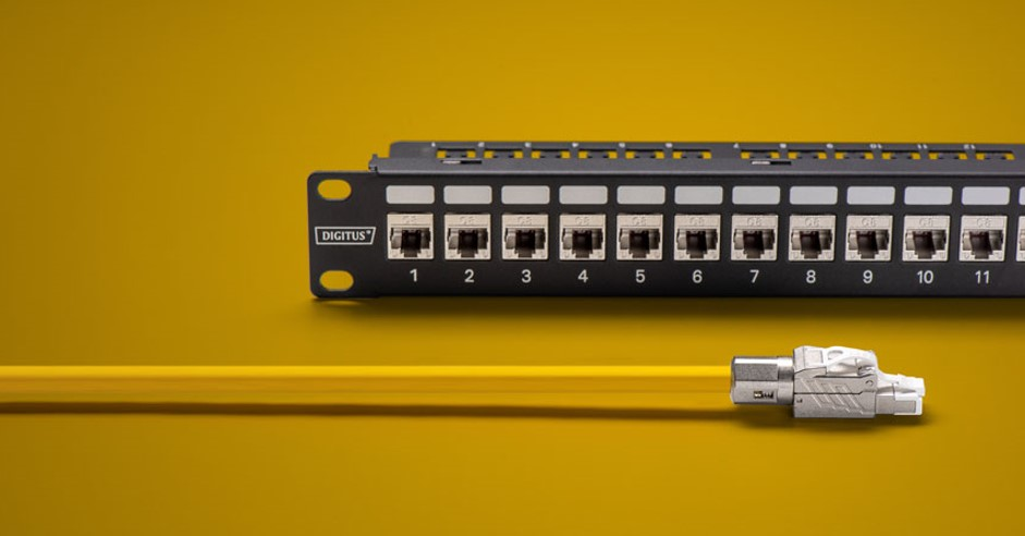 CAT 8.1 patch cable and switch