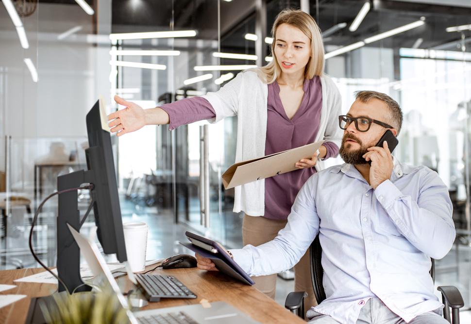 Grupni rad u uredu